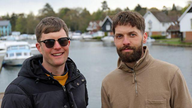 Matt Lawley and Ed Bates