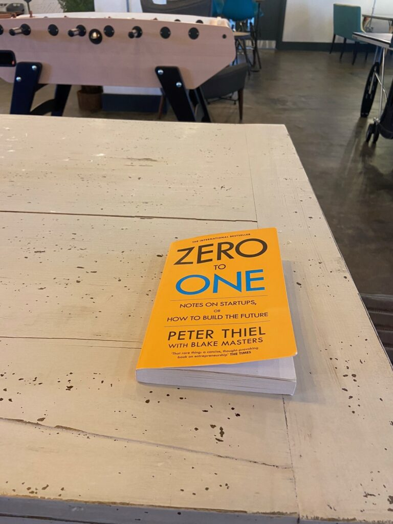 Zero to one startup book review